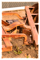 50mm f/1.8 Colorized version in NX Old Rusty Farm Equipment